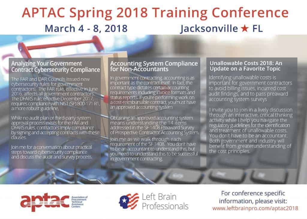 Left Brain Professionals - APTAC 2018 Training, FL