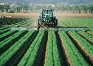 Farming equipment tractor
